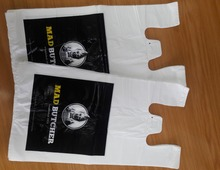 Vest Type Carrier Bags with virgin material