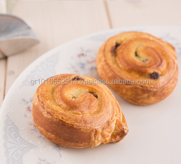 Excellent Quality Danish Butter Pastry with Raisins - 140g - 30pcs