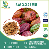 Vitamins and Mineral Enriched Fresh and Organic Raw Cacao Beans