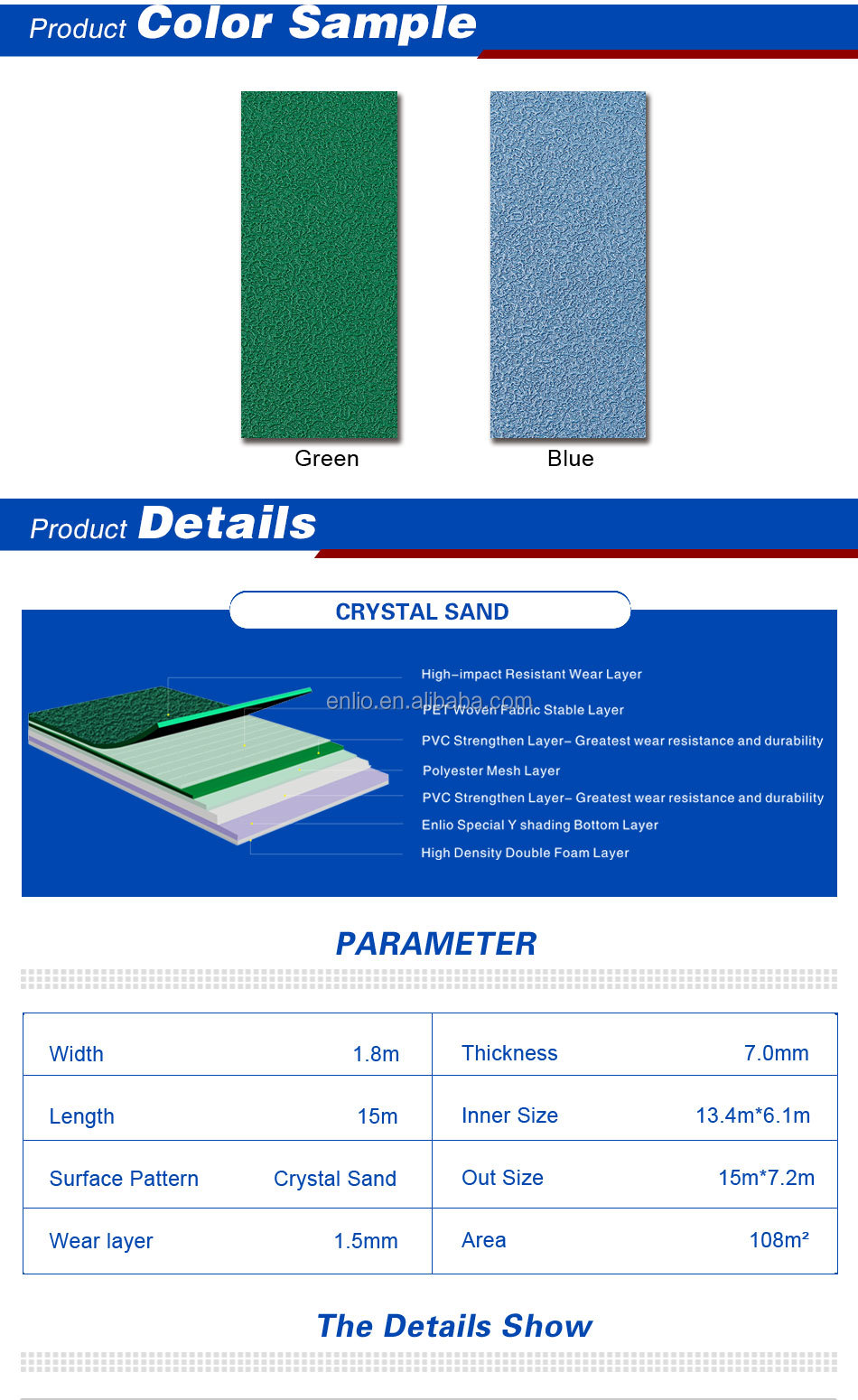 PVC Badminton Flooring Carpets With BWF