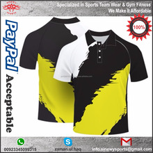 Custom Design Men Polyester Sublimated Polo Shirts
