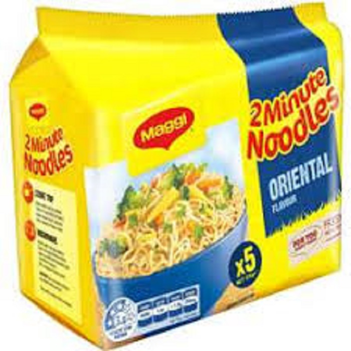 Instant Low Fat Dried Broad Noodles (Turmeric Flavour Asian Style) for sale