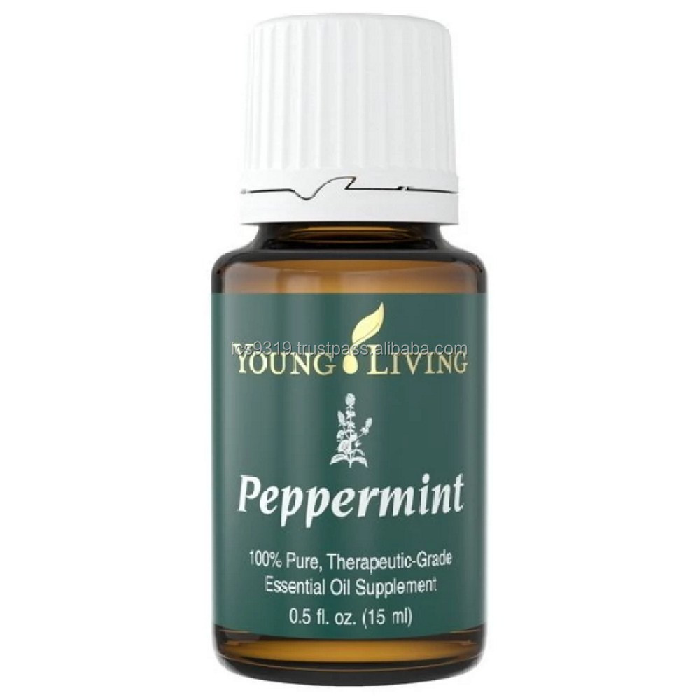 Peppermint Essential Oil - 15ml RM98 Young Living Original