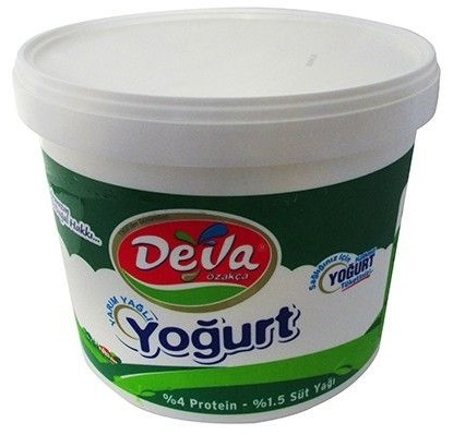 DEVA Yoghurt 9 kg (Semi Fat) - Greek Yogurt