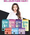 Belleum Fake Hair Beauty and Beautiful woman Quick & Easy Hair Extension Made in Korea