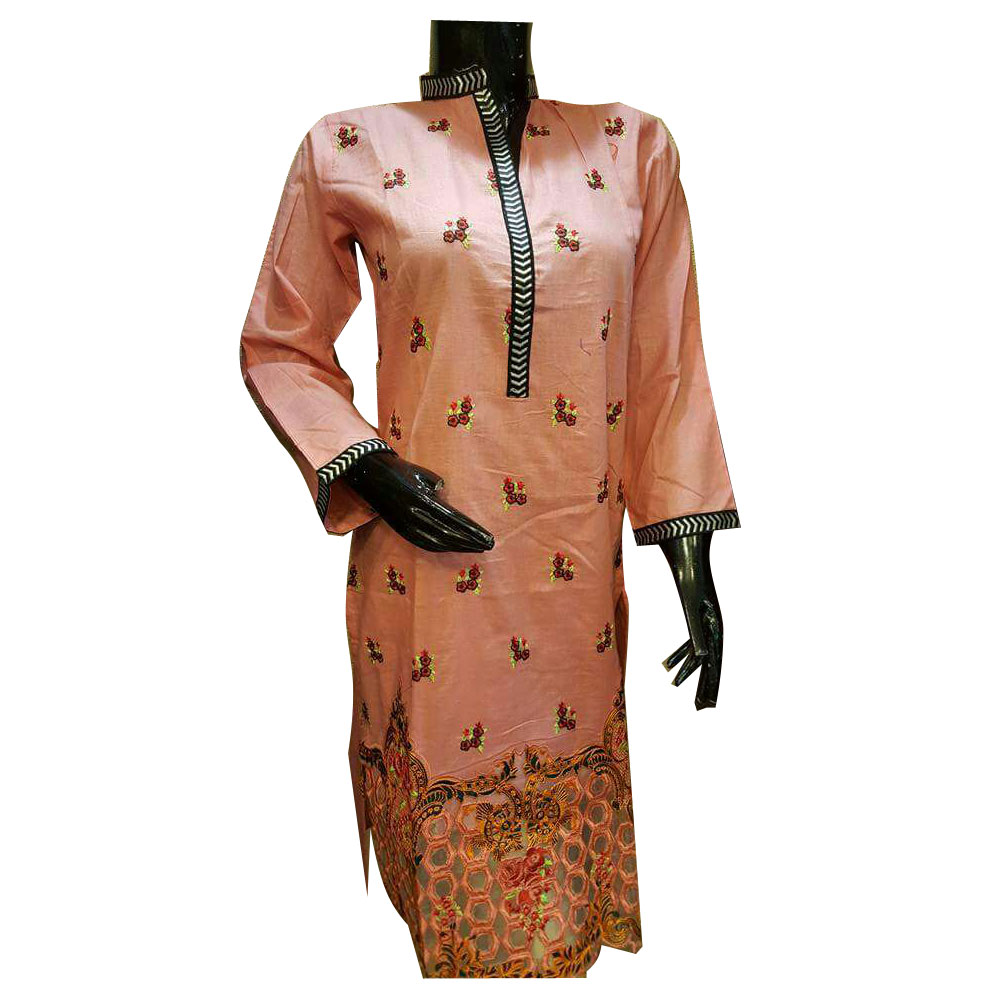 Printed Cotton Casual Long Kurti