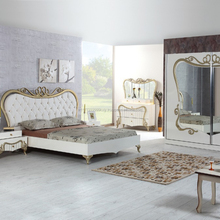 Turkish Quality Classic Antique Competitive Price Bedroom Set 2018