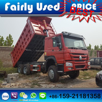 Used Left Hand Drive/Right Hand Drive Howo 336HP/371HP/375HP Dump Truck
