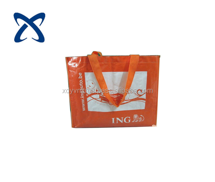 Promotional Shopping pp woven bags 2017 VIETNAM
