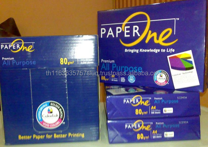 Paper One A4 Copy Paper 80gsm/ Clean White A4 Copy Paper for Sale at Cheap Prices
