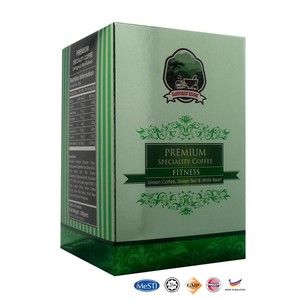 Best Selling Rainforest Premium Instant Coffee Speciality Fitness extract green coffee made in Malaysia
