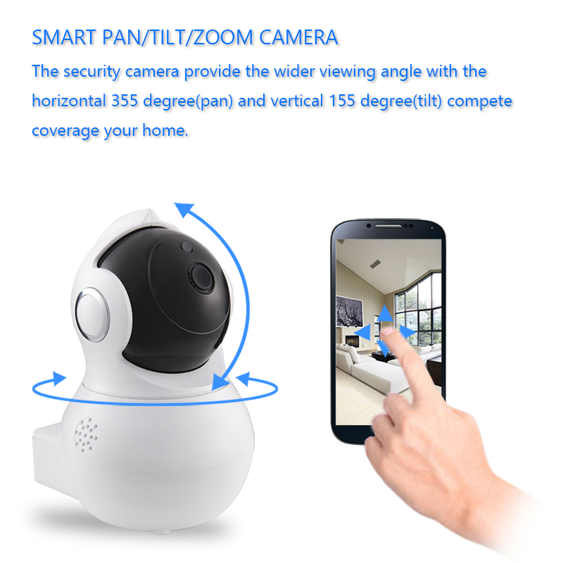 Littlelf 960P Home Security Indoor Wireless IP Camera With Night Vision And Motion Detection