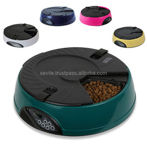 High Quality Colorful Pet Dog Automatic Smart Bowl Feeder, Durable Cat Programmable Feeder