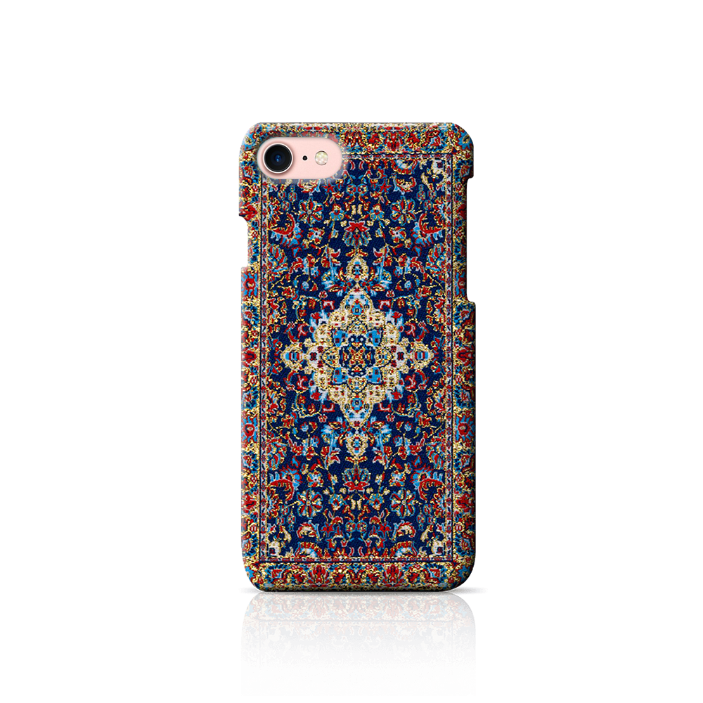 Traditional carpet case for mobile phone