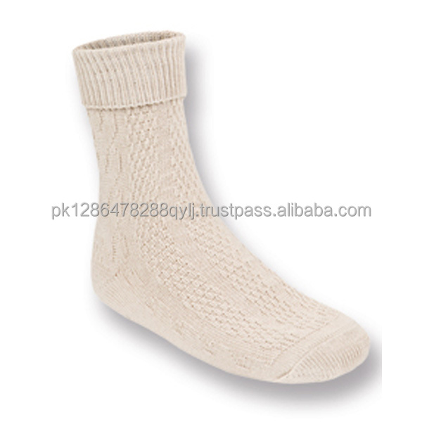 Bavaria Trachten Short Embroidered German Trachten Lederhosen Bavarian Socks in diffrent styles (Bavaria Socks)