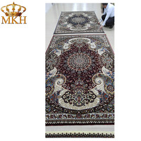 Factory Sale Various Widely Used Hand Carved Silk Carpet