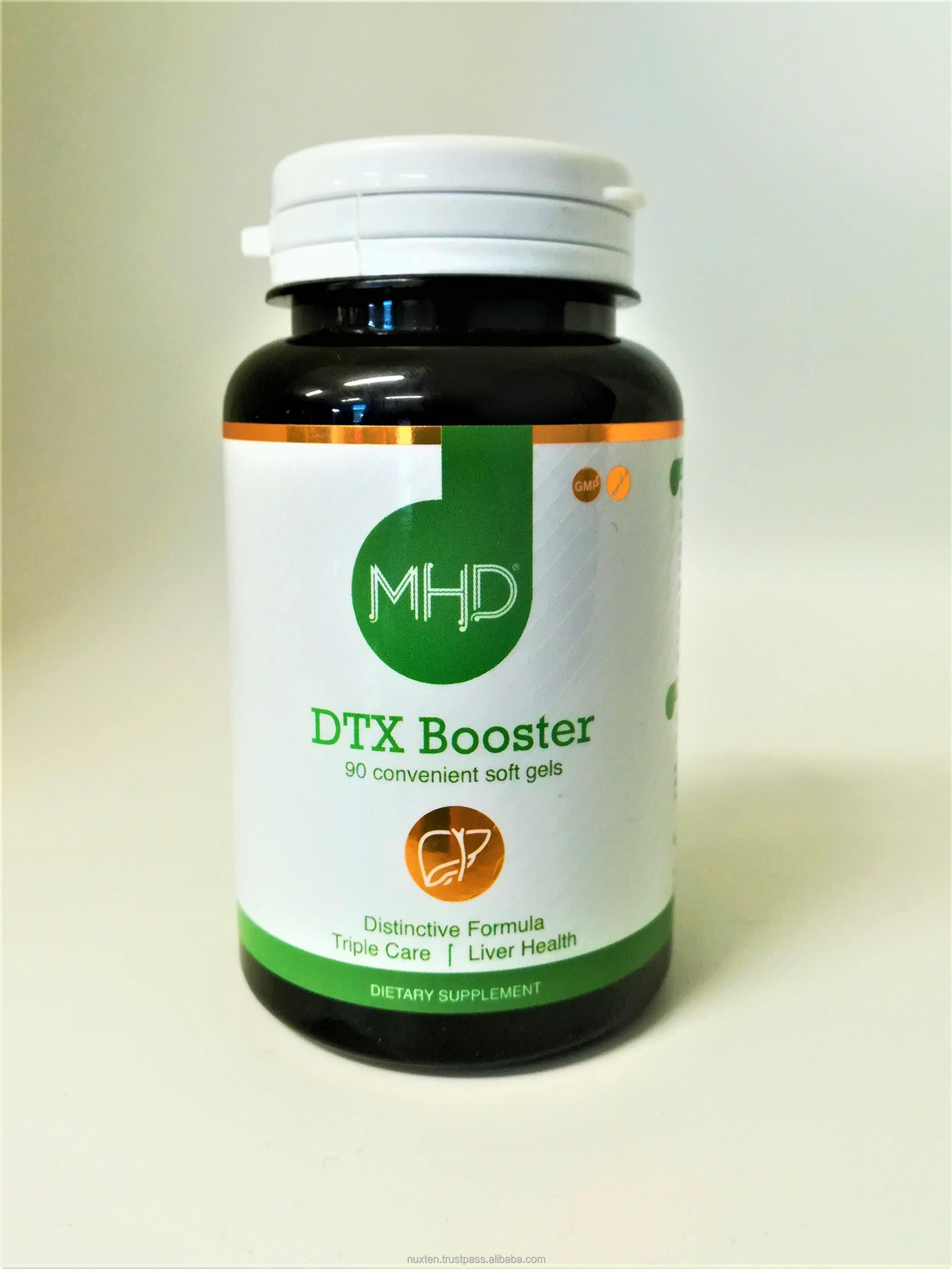 MHD: DTX Booster - Liver Health Supplement