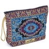 Turkish Carpet Patterned Woven Make up bag & Cosmetic Case From Turkey