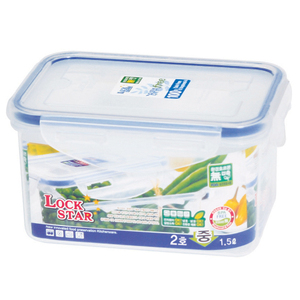 [L122] Plastic Container for sauces Lockstar Transparent Food Storage Container Airtight Container Made in Korea