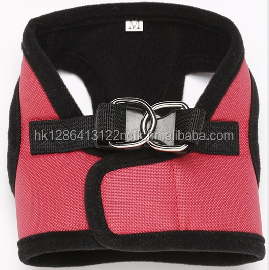 Security Soft Dog Body Harness with leash