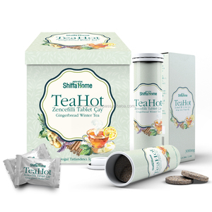 Natural Ginger Tea Effervescent Water Soluble TEA Drink Innovative Product TeaHot Hot Beverage ...