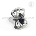 Purple copper turquoise gemstone ring handmade 925 sterling silver rings jewelry wholesale supplier