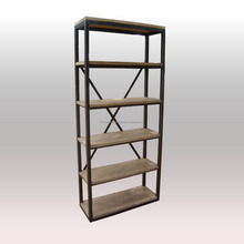 Vintage Look wrought iron book rack modern book rack library book rack