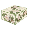 Multi-Colour, 50 x 39 x 24 cm Decorative with Handles home storage box