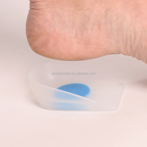 Orthopedic silicone heel cup gel foot care products for sale