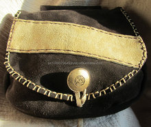 MEDIEVAL SUEDE LEATHER BAG