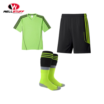 Comfortable Soccer uniform made of 100% Polyester