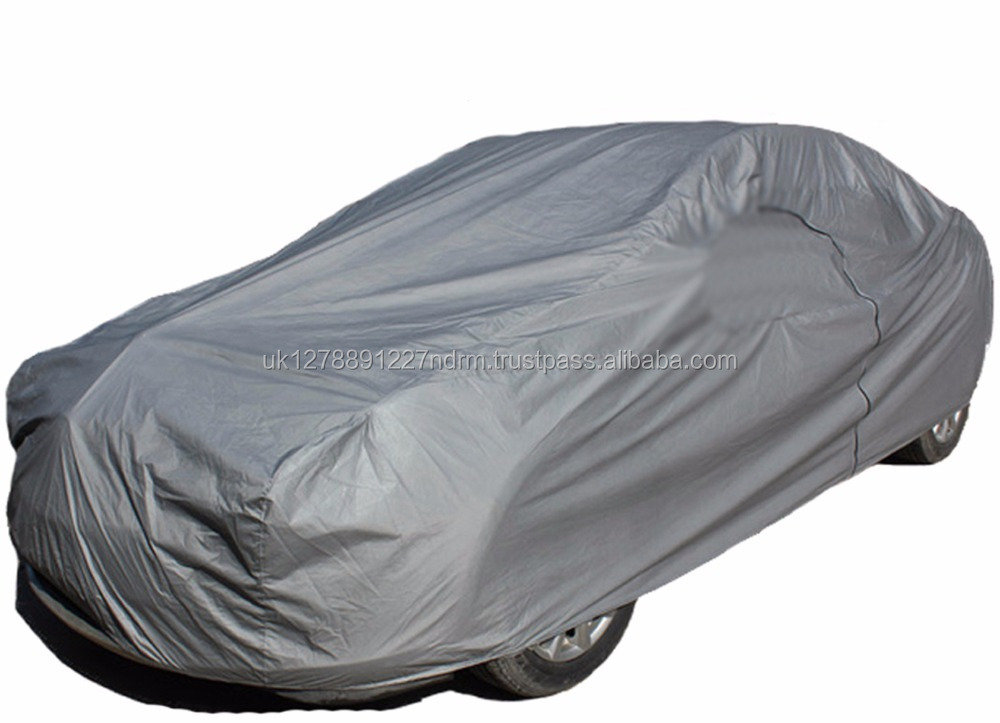 XXL Extra Extra Large Waterproof 2 Layer Full Car Cover Indoor Outdoor Breathable UV Protect - UK Stock Fast Shipping