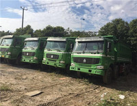 used 6x4 336HP 247KW EURO4 SINOTRUK HOWO Dump Truck Tipper Truck For Sale