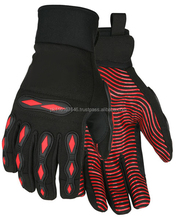Protective SAFETY IMPACT LINED MECHANIC GLOVES MG-018 Impact Gloves for Oil Gas/Construction Gloves/Safer Hand Gloves