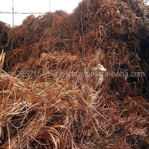 Copper Scrap 99.95% to 99.99% Purity
