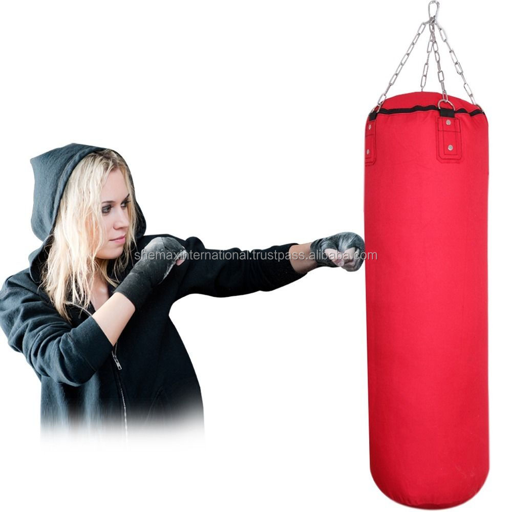 3ft Heavy Filled Boxing Punch Bag MMA Pad Karate Training Martial Arts