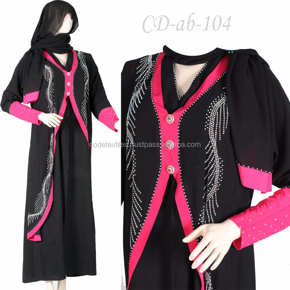 2018 Good Price Latest Design Muslim Party Dress Islamic Ethnic Abaya Clothing For Women