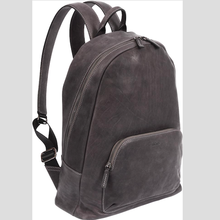 Genuine Italian Leather City Backpack