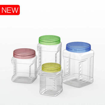 PET Plastic Jar for food food container for candy, biscuit, cashew Duy Tan Plastics in Vietnam cheap price high quality
