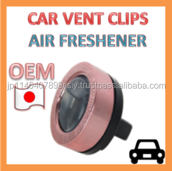 OEM Wholesale Air Freshener Vent Clip for Automotive AC Louvers