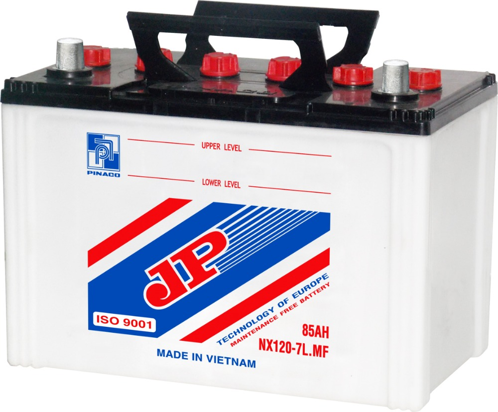 NX120-7 (12V - 80Ah) Dry Charged Battery