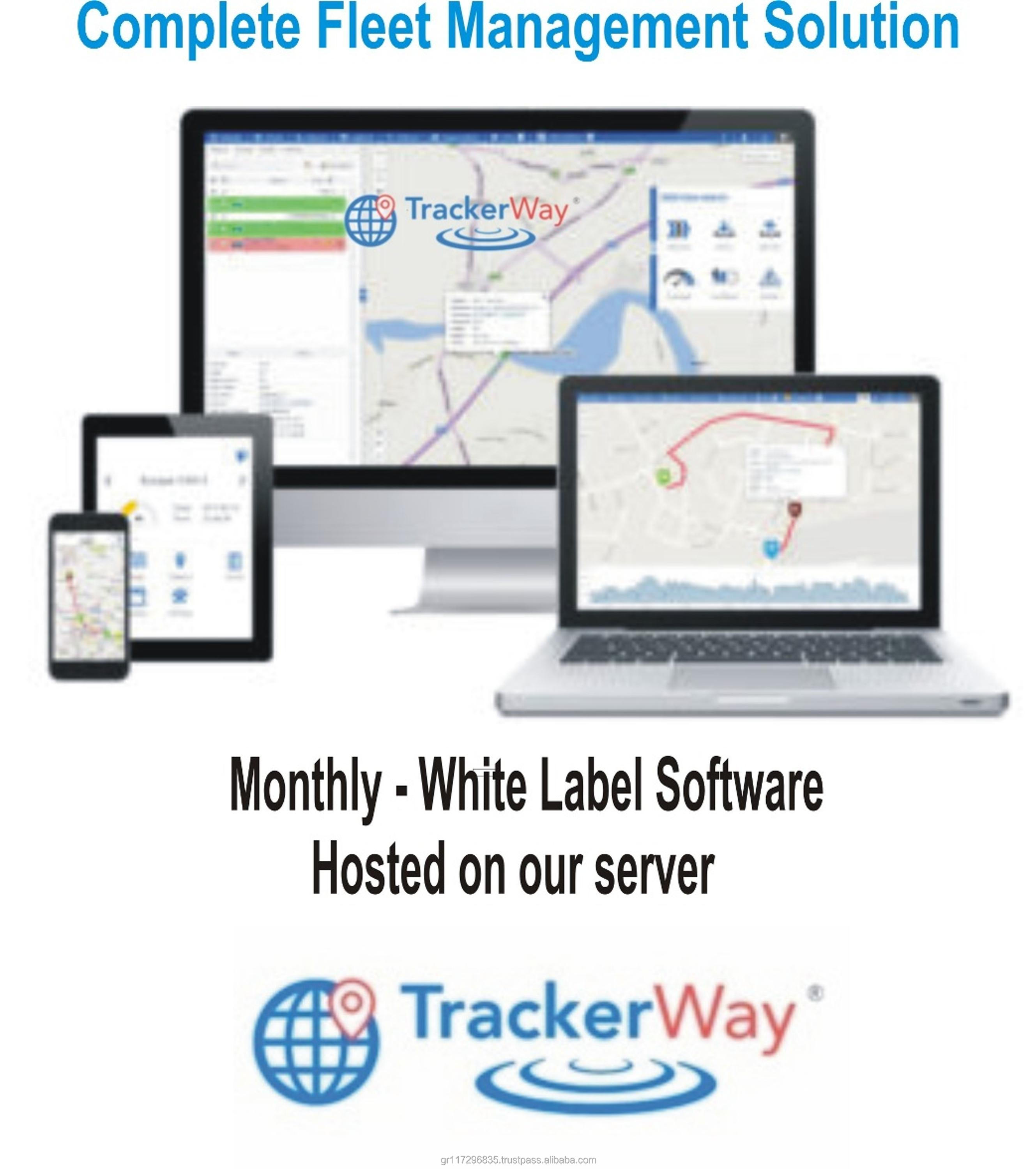 TrackerWay Web Based GPS tracking software with open source code and android / ios / iphone app