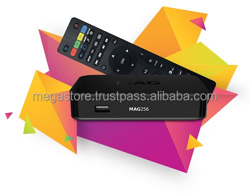 Genuine MAG 256w1 Wi-Fi IPTV Set-Top Box Media Streamer 3D Video same as MAG256 with AU/EU Adaptor & Free Delivery.