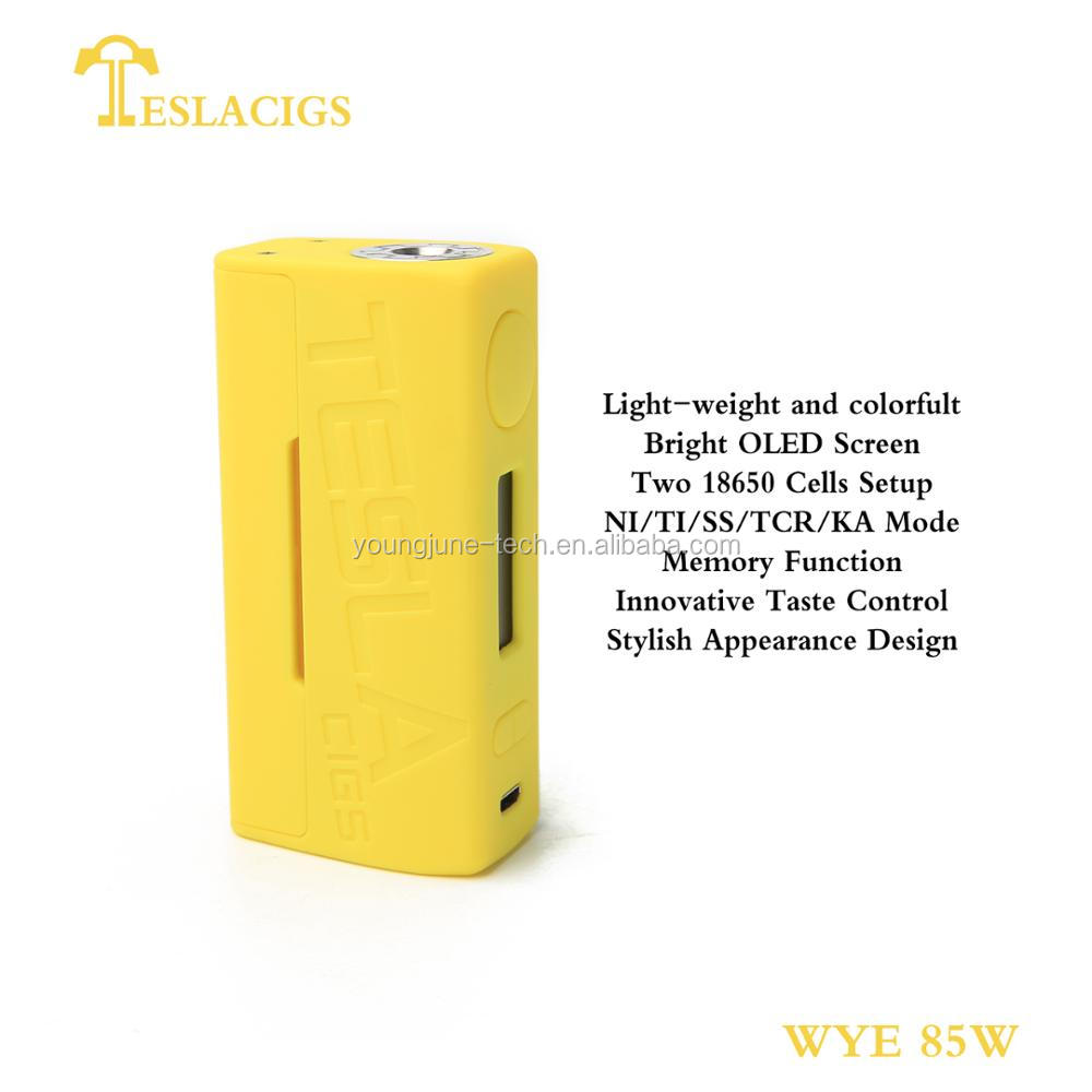 Mini version WYE 85W from Teslacigs youth 6 colors