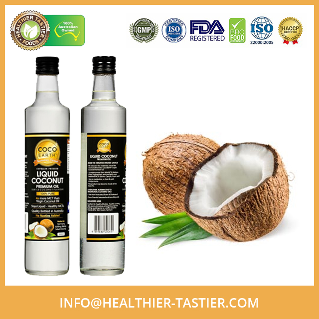 Organic Virgin Coconut Oil Liquid Available in Bulk Packing