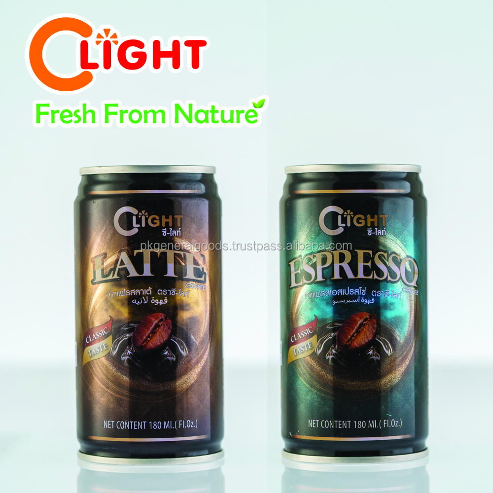 Coffee Drink canned 180ml C-Light brand