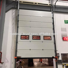 Used Exterior Sandwich Panel Sliding Door Industrial Sectional Door Price