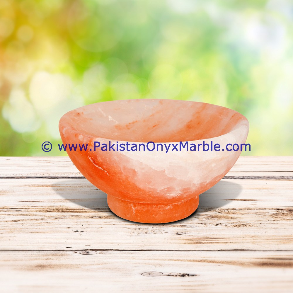 Party used himalayan salt Bowls & Dishes handcrafted