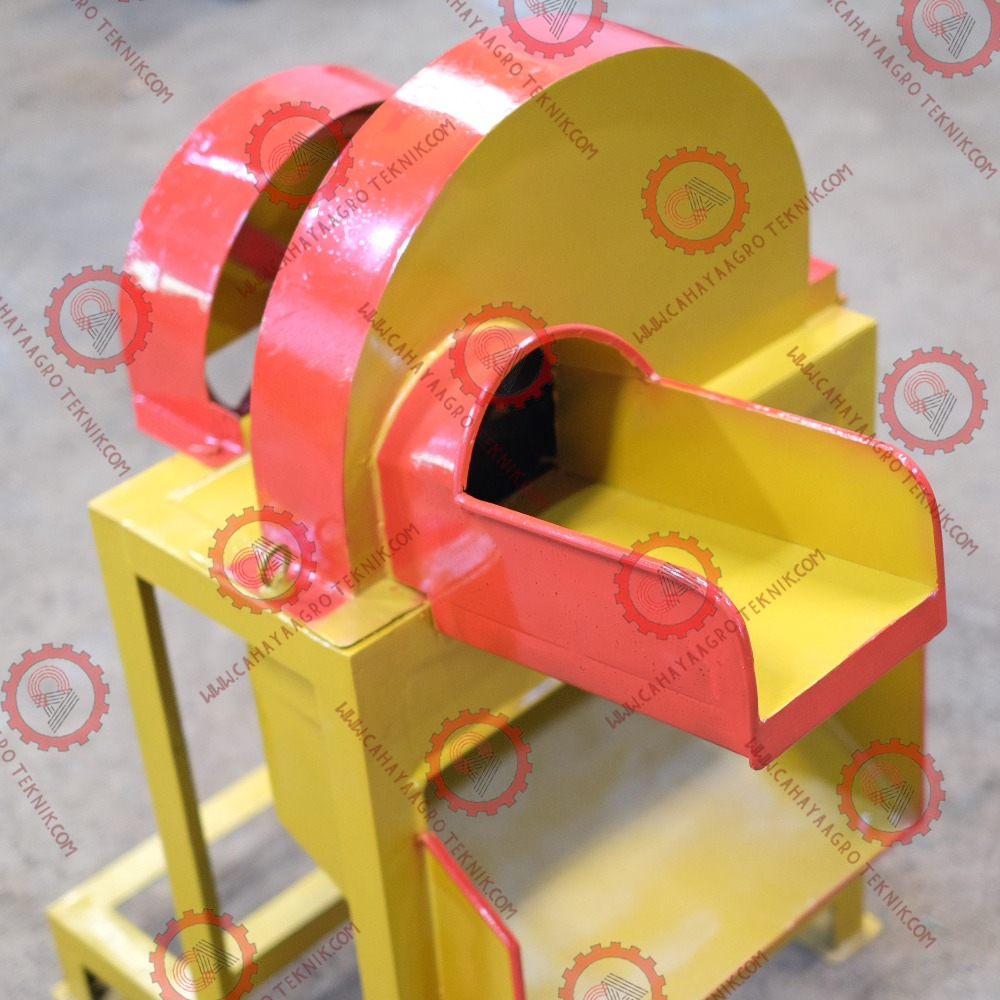 Yellow Wood Tree Cutting Machine for Banana Trunk