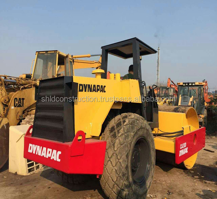 Used Vibrator Dynapac CA30D Road Roller with double drive